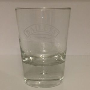 Bailey's whiskey bubble glass cup